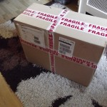 The delivery of the MIP, auto-brake, loudspeaker and landing gear lever has arrived!